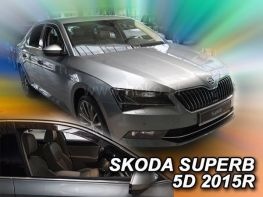 Ветровики SKODA Superb III (B8; 2015-) Liftback - HEKO