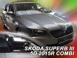 Ветровики SKODA Superb III (B8; 2015-) Combi - HEKO