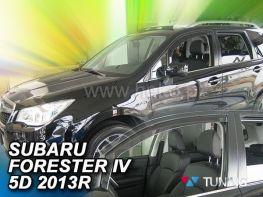 Ветровики SUBARU Forester IV (14-18) - Heko (вставные)