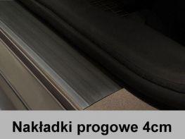 Резиновые накладки на пороги универсальные 4 см