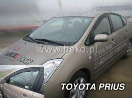 Ветровики TOYOTA Prius II XW20 (2003-2009) 5D HEKO