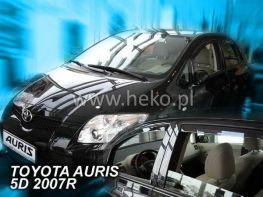 Ветровики TOYOTA Auris I (06-12) 5D / (12-) Classic - Heko (вставные)