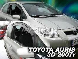 Ветровики TOYOTA Auris I (07-12) 3D - Heko (вставные)