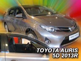 Ветровики TOYOTA Auris II (12-18) Hatchback - Heko (вставные)