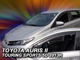 Ветровики TOYOTA Auris II (13-18) Touring - Heko (вставные)