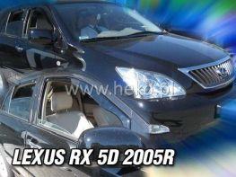 Ветровики LEXUS RX (XU30) (2004-2009) 5D HEKO