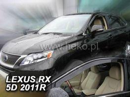 Ветровики LEXUS RX III (2009-2015) - HEKO