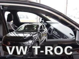 Ветровики VW T-Roc (17-) - Heko (вставные)