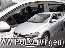 Дефлекторы окон VW Polo VI (17-) HB - Heko (вставные)
