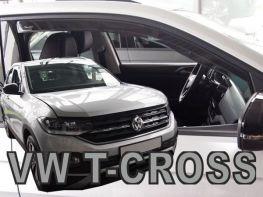 Ветровики VW T-Cross (19-) - Heko (вставные)
