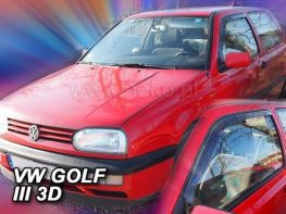 Ветровики VW Golf III (92-97) 3D HEKO
