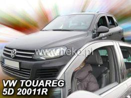 Ветровики VW Touareg I (02-10) - Heko (вставные)