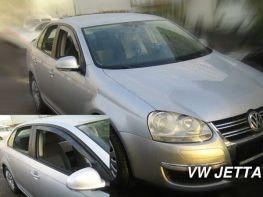 Ветровики вставные VW Jetta A5 (05-11) - Heko (вставные)