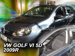 Ветровики VW Golf VI (2008-) 5D HB HEKO