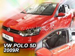 Ветровики VW Polo Mk5 6R (2009-) 5D HEKO