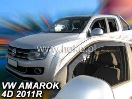 Ветровики VW Amarok (2010-) 4D HEKO передок