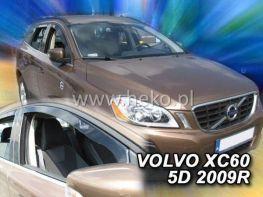 Ветровики VOLVO XC60 I (2008-2017) 5D HEKO
