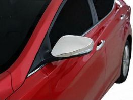 Хром накладки на зеркала HYUNDRAI Elantra V MD (11-)