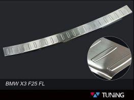 Накладка на задний бампер BMW X3 F25 FL (2014-) рестайлинг