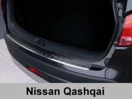 Накладка на задний бампер NISSAN Qashqai J10 (07-13) - Польша