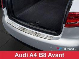 Защитная накладка на бампер AUDI A4 B8 (08-12) Avant Польша