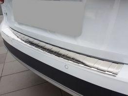 Защитная накладка на задний бампер AUDI A4 B9 Allroad