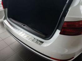 Стальная накладка на задний бампер AUDI A4 B9 Avant
