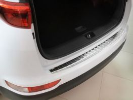 Накладка на бампер KIA Sportage IV (16-18) - AVISA