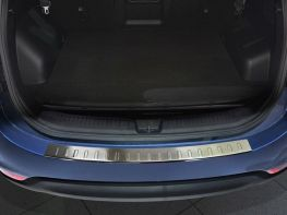 Накладка на задний бампер KIA Carens III (2013-) 5D