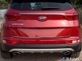 Хром кромка багажника KIA Sportage IV (QL) (16-/18-)