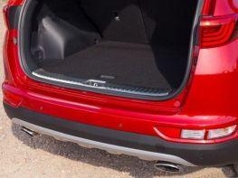 Накладка на порог багажника KIA Sportage IV (16-/18-)