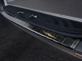 Накладка на бампер MERCEDES Sprinter W907 (19-) - Avisa (чёрная)