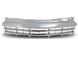 Решётка радиатора OPEL Astra H GTC (05-) 3D - хром