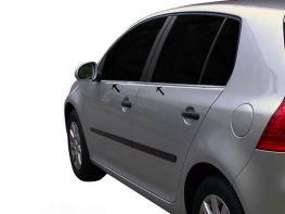 Хром нижние молдинги стёкол VW Golf V (03-08) 5D HB