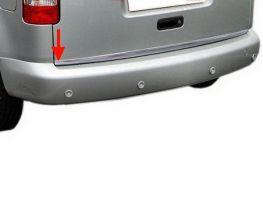 Хром накладка на кромку багажника VW Caddy III (2004-)