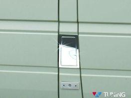 Хром накладка на люк бензобака VW LT (96-06)