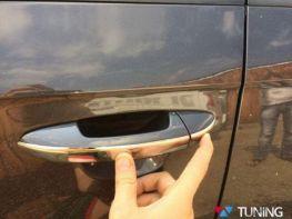 Хром накладки на ручки VW Touareg II (2011-) узкие