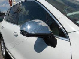 Хром накладки на зеркала VW Touareg II (2011-2015)