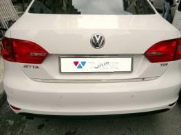 Хром накладка на кромку багажника VW Jetta A6 (11-14)