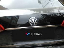 Хром накладка над номером VW Jetta A6 (2011-)