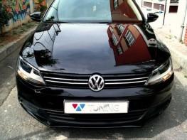 Хром полоски на решётку радиатора VW Jetta A6 (11-14)
