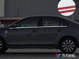Хром нижние молдинги стёкол VW Jetta A6 (11-18)