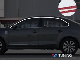 Хром верхние молдинги стёкол VW Jetta A6 (11-18) Sedan