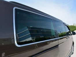 Хром полная окантовка стёкол VW T6 (2015-)