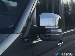 Хром накладки на зеркала VW Crafter II (17-)