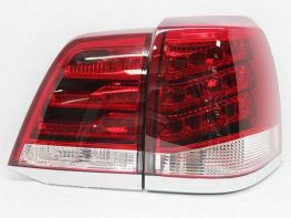 Фонари задние TOYOTA Land Cruiser 200 (07-15) RED/WHITE LED