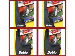 Брызговики FIAT Doblo I (2000-2005) - полный комплект
