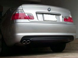 "Бампер задний BMW 3 E46 Coupe / Cabrio ""M-пакет"""