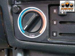 Кольца ручек переключения печки BMW 3 E30 (1982-1994)