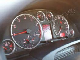 Кольца в щиток приборов AUDI A6 C5 (97-04) - RS6 стиль